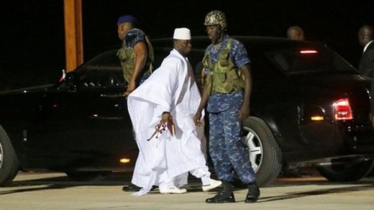 The Gambia registers $11 million loss after Jammeh gets exiled