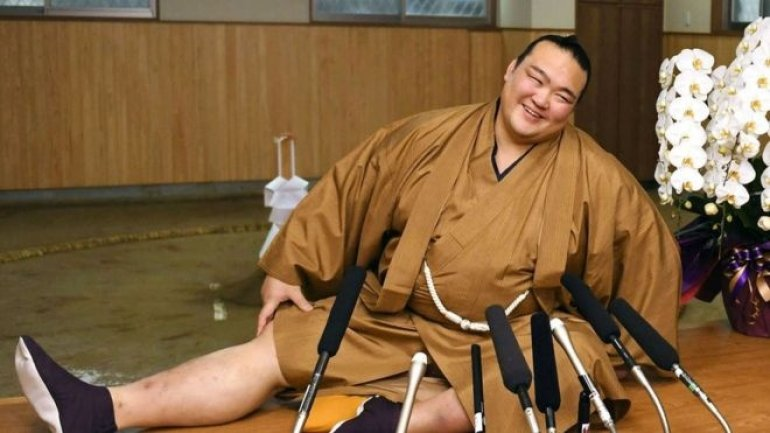 Japan gets first sumo champion in 19 years