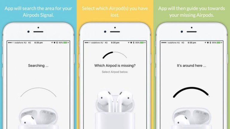 Apple removes app that lets you find your AirPods