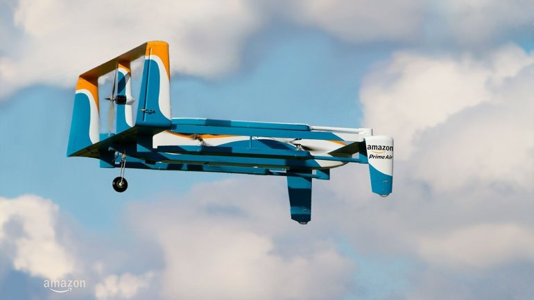 Products stored in air. Amazon just asked for permission to do so