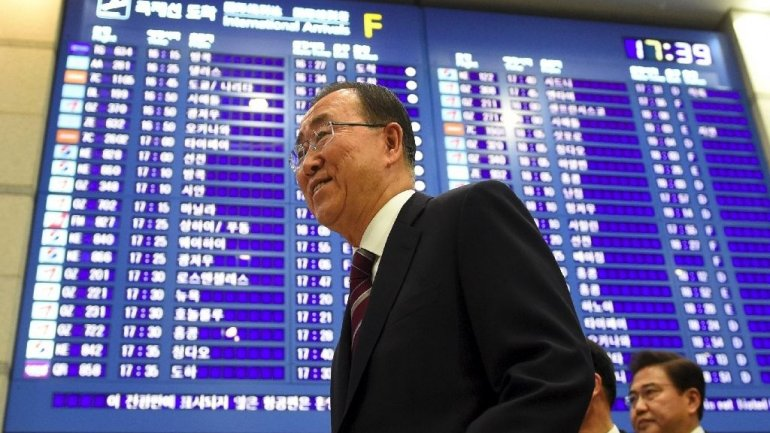 Ban returns to South Korea after hinting at presidency run
