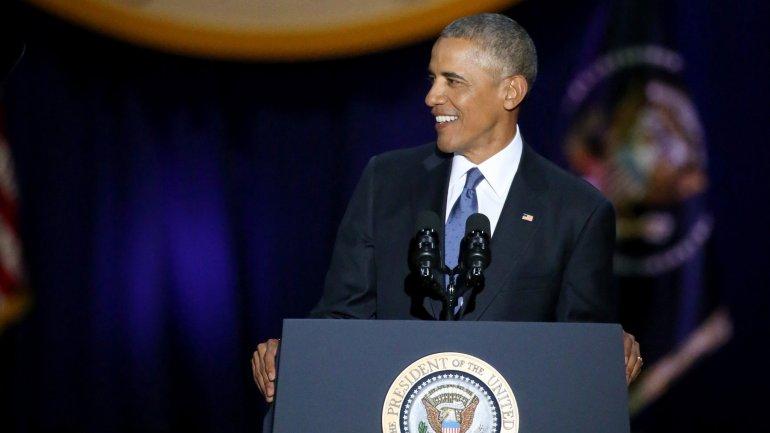 Obama gives emotional farewell speech (FULL SPEECH)