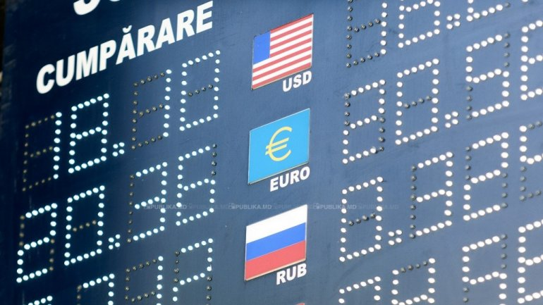 EXCHANGE RATE 25 JANUARY 2017:Euro goes up in comparison to Moldovan leu