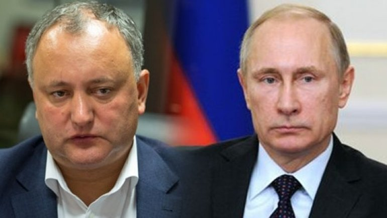 Issues to be discussed today by Moldovan, Russian presidents