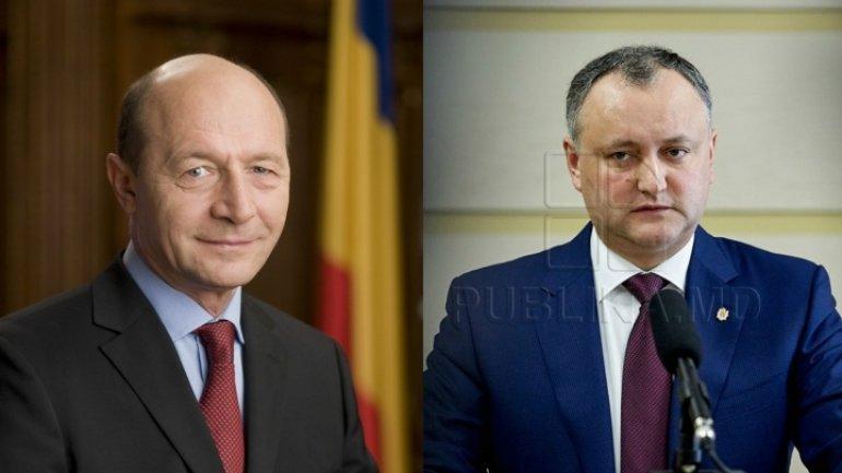 President Igor Dodon cancels Moldovan citizenship of former Romanian president Traian Basescu