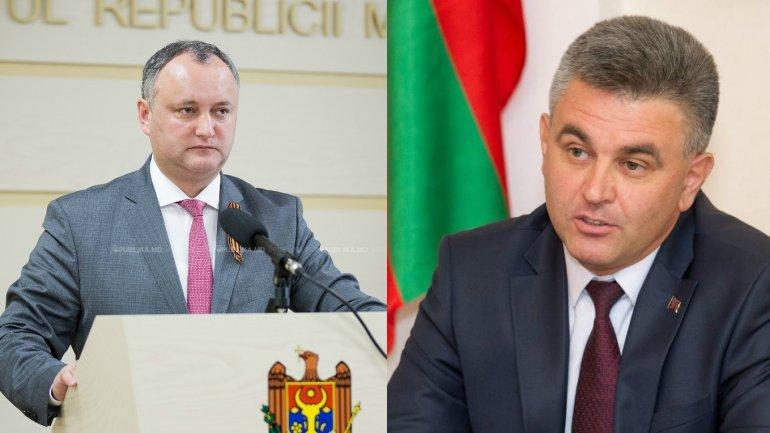"President Igor Dodon to meet Transnistrian region ""leader"", Vadim Krasnoselsky"