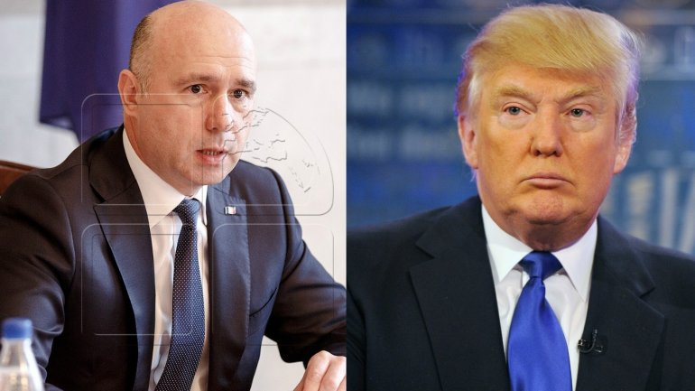 Moldovan PM congratulates U.S. President Donald Trump on inauguration in office