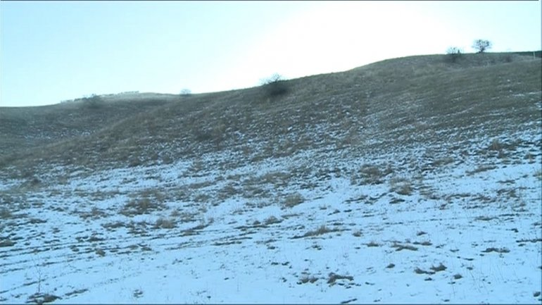 Nisporeni town ski slope not open due to unseasonably warm weather