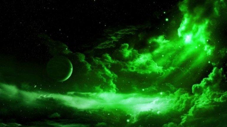 Galaxies were originally green. Just after Big Bang