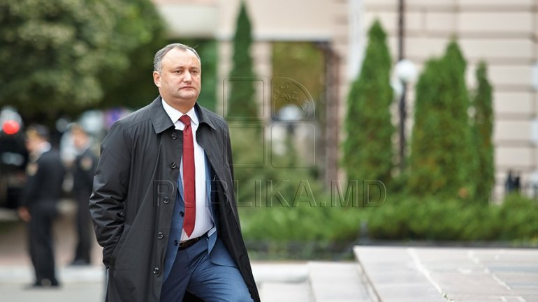 Moldovan president starts official visit to Russia