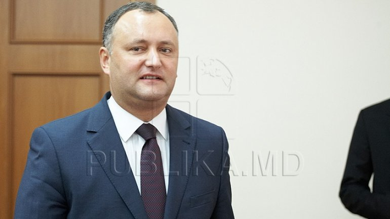 Dodon to trigger referendum to get more powers. Wants to dismiss Parliament