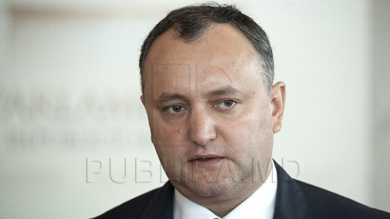Igor Dodon wants cancellation of agreement on NATO Liaison Office opening in Chisinau
