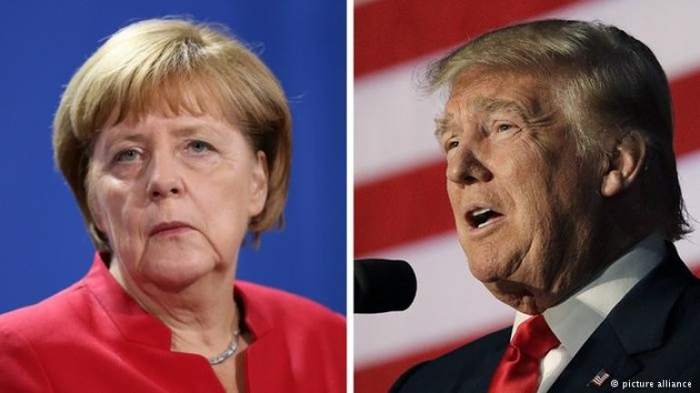Merkel had to lecture Trump on international law over phone