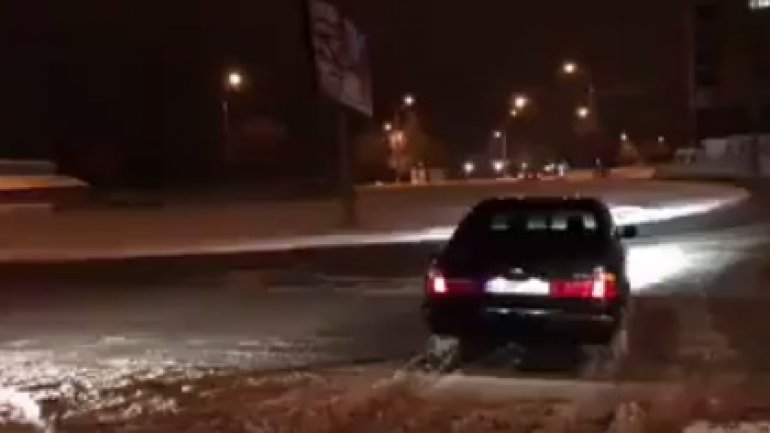Driver caught drifting in Botanica sector of Capital (VIDEO)