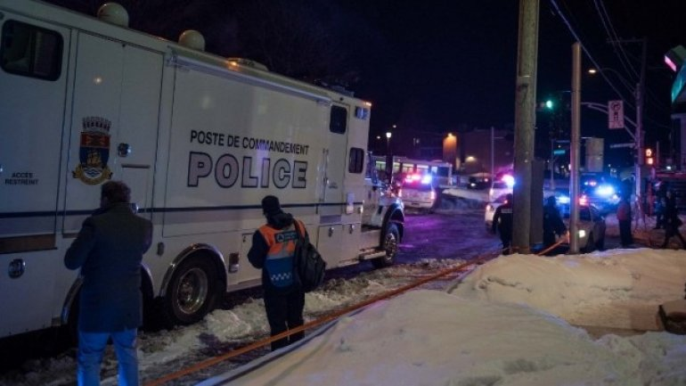 Six killed in Quebec mosque. Suspects, arrested