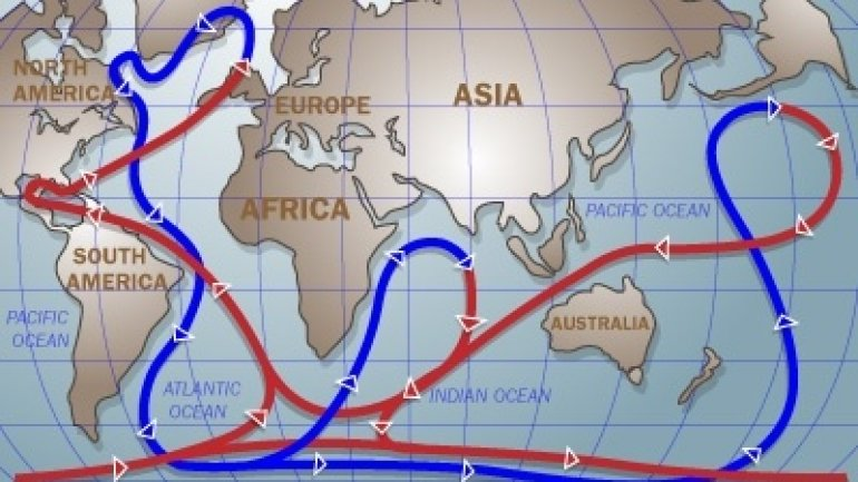 Too much carbon dioxide in atmosphere may change oceanic currents