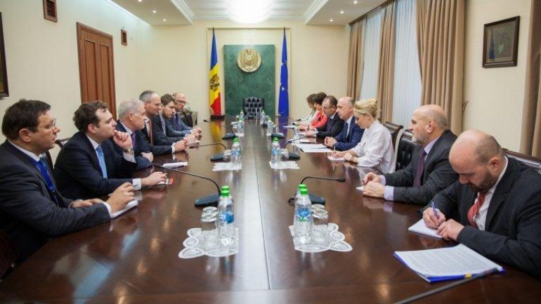 Premier Pavel Filip meets OSCE ambassador for Transnistrian settlement