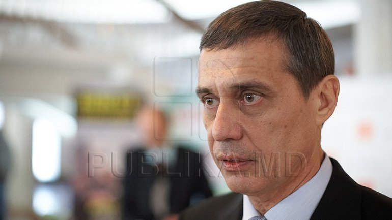 Pavel Ciobanu, only bidder for new chairmanship of Soccer Federation