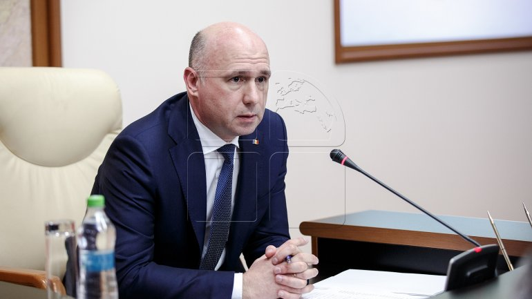 Pavel Filip: The only result of the referendum proposed by Igor Dodon is a campaign on public money for PSRM