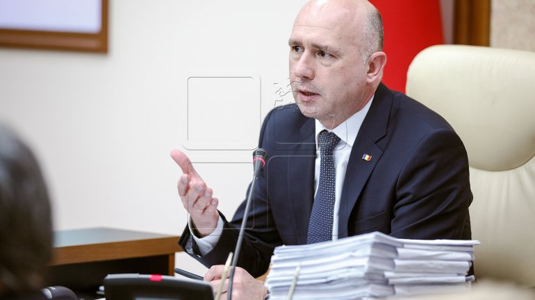 Pavel Filip: Dodon's declarations will have no effect in Chisinau