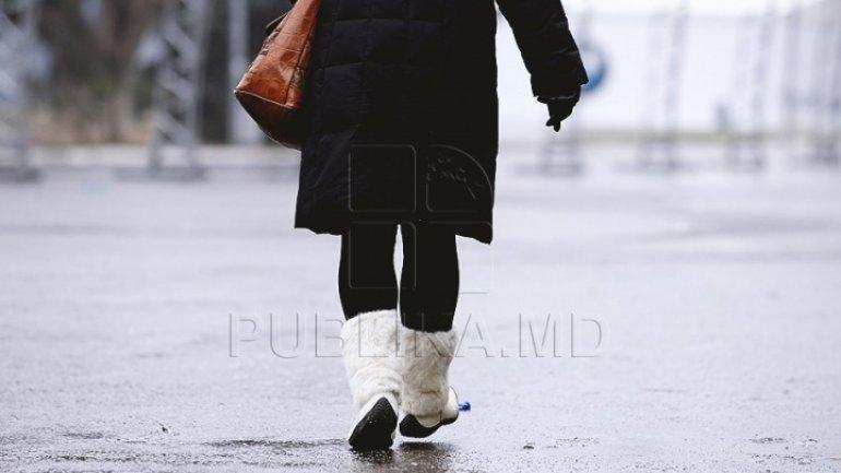 Frozen sidewalks made 30 victims in Chisinau