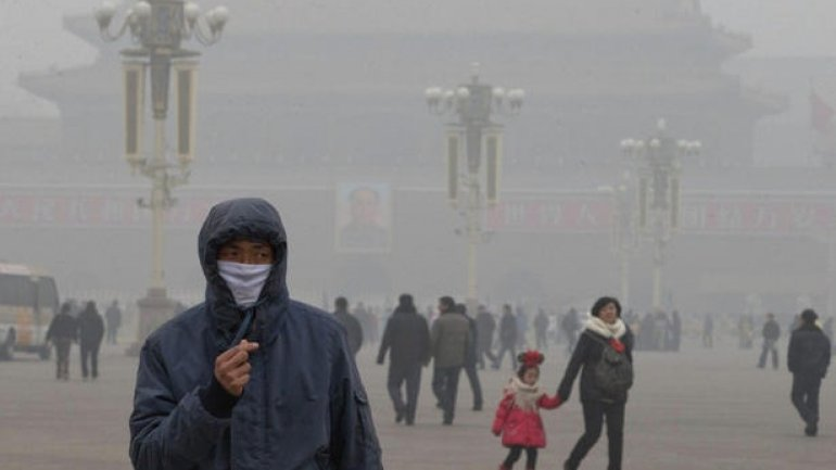 China sets up environmental police to combat polluted air