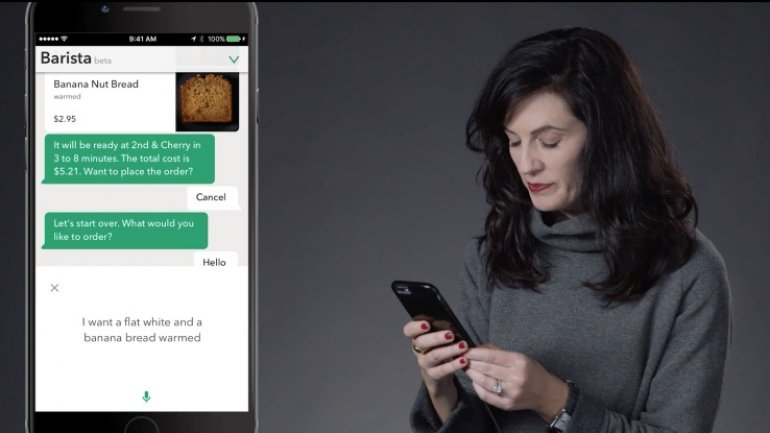 Starbucks unveils virtual assistant that takes your order via messaging or voice