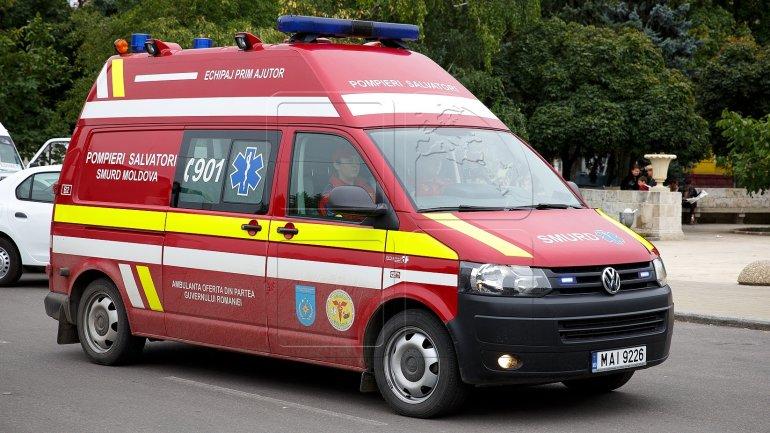 SMURD intervention: Newborn urgently transported to Balti Perinatology Centre