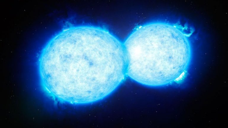 Binary star system to explode in five years