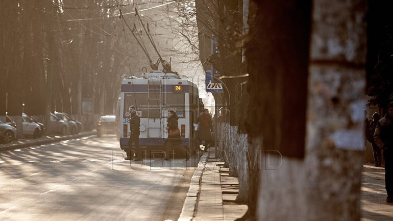 Hundreds of utility poles for trolleybuses to be changed in Chisinau