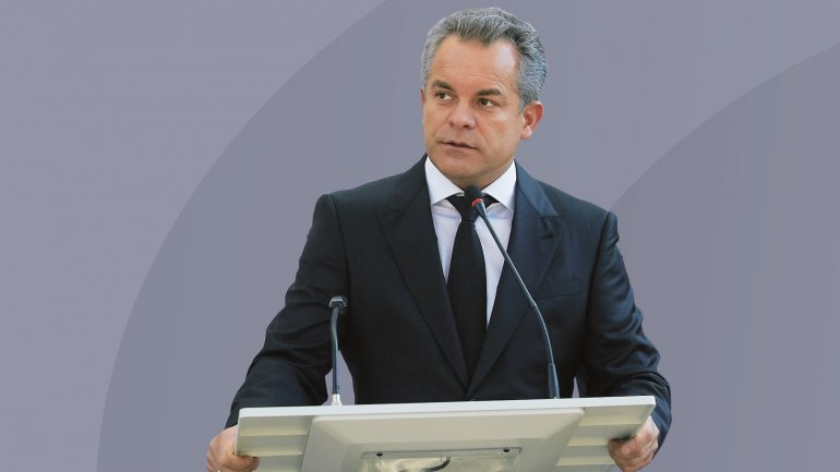Reaction of PDM leader Vlad Plahotniuc on Dodon's announcement regarding cancellation of Association Agreement with EU