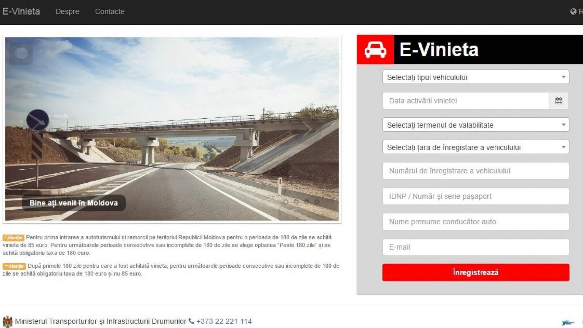 Drivers to purchase road toll ONLINE | PUBLIKA  MD - AICI SUNT ȘTIRILE