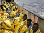More than 1,300 migrants rescued from Mediterranean in single day