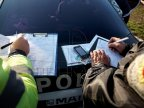 Police conducts random operation to detect violators of traffic rules