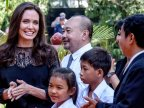 Angelina Jolie makes first public appearance since split