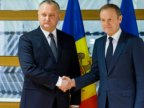 President Dodon tells EU officials he dislikes Moldova's agreements with EU