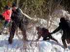 Eight people flee U.S. border patrol to seek asylum in Canada