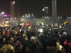 Fourth day of massive protests in Romania, 120,000 people sing national anthemn in Bucharest (VIDEO)