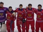 BIG TIME GOOF. The Russian anthem played faultily during the World Ball Hockey Cup finals