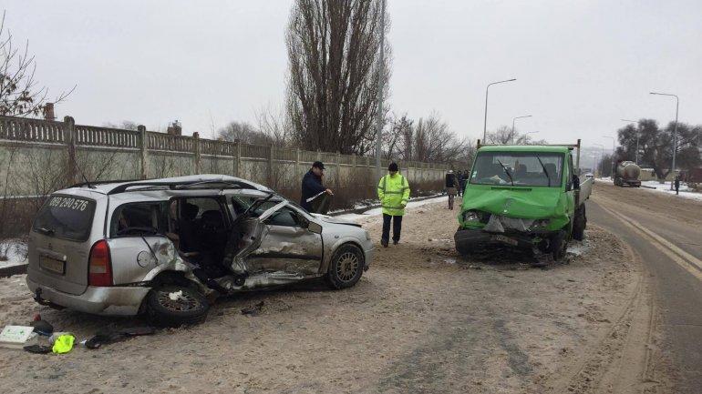 TRAGIC ROAD ACCIDENT on outskirts of Chisinau (PHOTO)