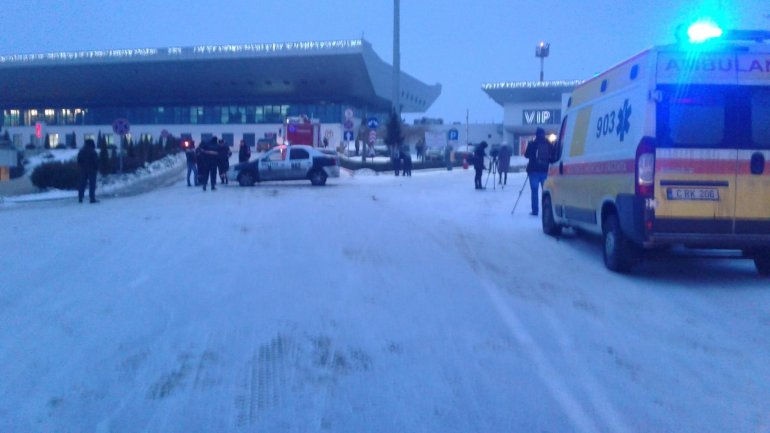 BOMB ALERT at Chisinau Airport: Suspect DETAINED (PHOTO/VIDEO)