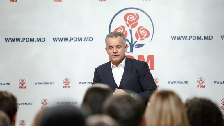 Vlad Plahotniuc held meeting with youth from PDM on occasion of party's 20th anniversary