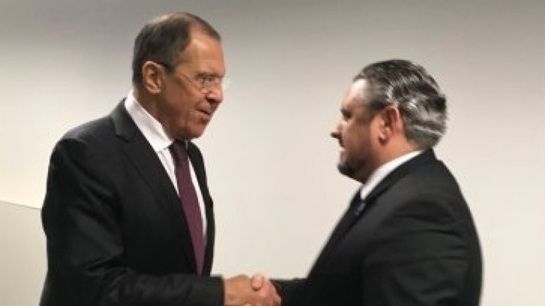 Moldovan foreign minister discusses with Russian counterpart