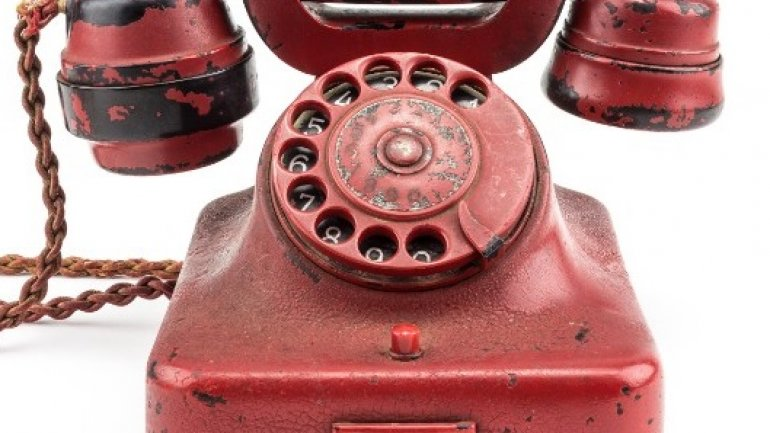 Hitler's phone recovered from Fuhrerbunker to be sold at auction