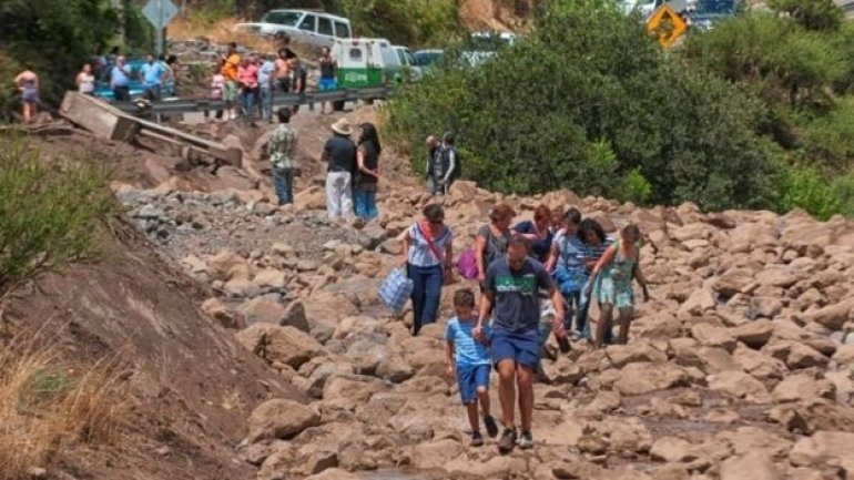 Chile floods: Millions without water in capital Santiago (PHOTO/VIDEO)