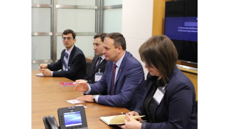 EBRD interested in developing investment projects in Moldova. PP Andrian Candu guarantees actions and results