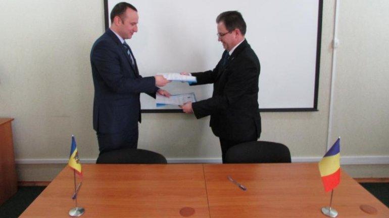 Bilateral meeting between Moldovan and Romanian border authorities (PHOTO)