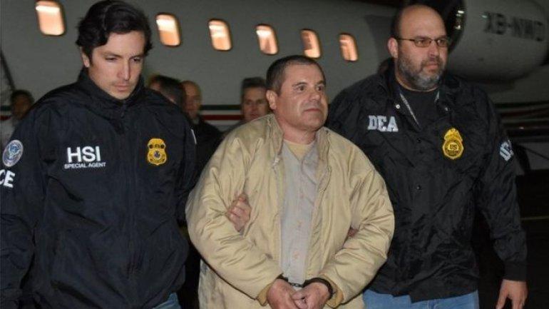 Drug lord El Chapo Guzman complains about US jail