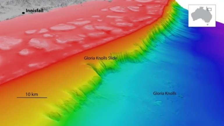 Ancient undersea landslide discovered in Australia