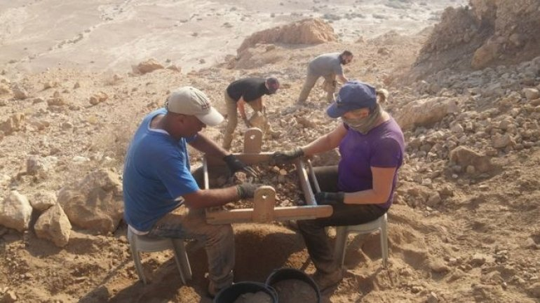 New Dead Sea Scrolls cave discovered